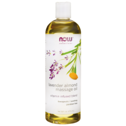 Massage Oil Lavender Almond, 16 fl oz (473 mL) Liquid