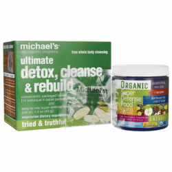 Ultimate Detox, Cleanse & Rebuild 7 Day Program, 1 Kit