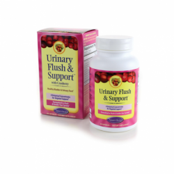 Urinary Flush & Support with Cranberry, 60 Caps