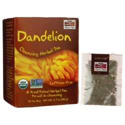Dandelion Cleansing Herbal Tea, 24 Bag(s)