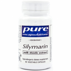 Silymarin  Milk Thistle Extract, 250 mg 60 Veg Caps
