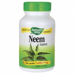 Neem Leaves, 475 mg 100 Caps