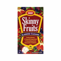 Skinny Fruits Slimming Cleanse featuring Raspberry Ketones, 90 Veg Caps