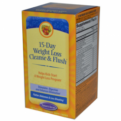 15Day Weight Loss Cleanse & Flush, 60 Tabs