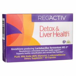 RegActiv Detox & Liver Health, 60 Caps