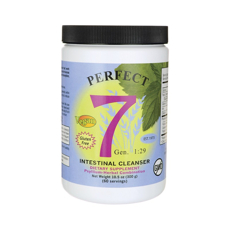 Perfect 7 Intestinal Cleanser, 10.5 oz (300 grams) Pwdr