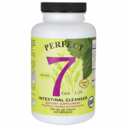 Perfect 7 Intestinal Cleanser, 500 mg 400 Caps