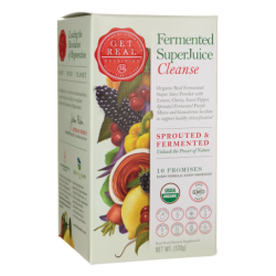 Fermented SuperJuice Cleanse, 120 grams Pwdr