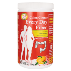 Colon Cleanse Every Day Fiber  Refreshing Orange, 9 oz (255 grams) Pwdr