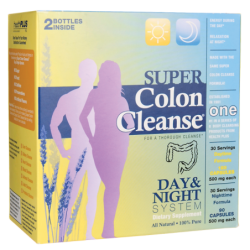 Super Colon Cleanse Day & Night System, 1 Kit