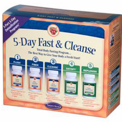 5Day Fast & Cleanse  5 Piece, 1 Kit