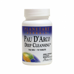 Pau DArco Deep Cleansing, 756 mg 72 Tabs