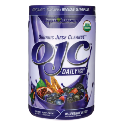 OJC Daily Super Food  Blueberry Detox, 7.4 oz (210 grams) Pwdr