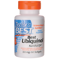 Best Ubiquinol Featuring Kaneka QH, 100 mg 60 Sgels