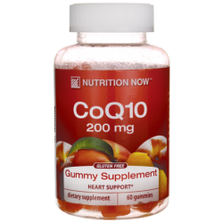 CoQ10 Gummy Supplement, 200 mg 60 Gummies