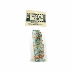 White Sage Native American Incense Small 45 Inches, 1 Pkg