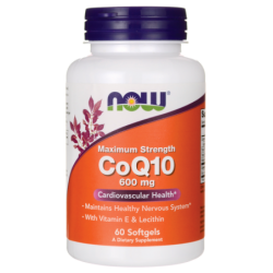 Maximum Strength CoQ10, 600 mg 60 Sgels