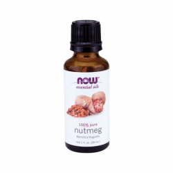 Nutmeg Oil, 1 fl oz (30 mL) Liquid