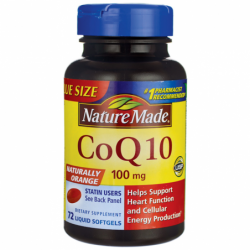 CoQ10  Naturally Orange, 100 mg 72 Sgels