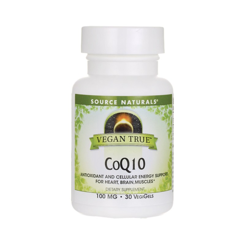 Vegan True CoQ10, 100 mg 30 Vegan Sfgs