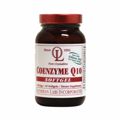 Coenzyme Q10 with Olive Oil, 100 mg 30 Sgels