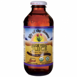 Preservative Free Aloe Vera Juice  Inner Fillet, 16 fl oz Liquid