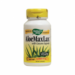 Aloe MaxLax with Cascara Sagrada, 445 mg 100 Vcaps