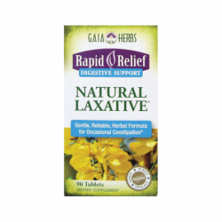Rapid Relief Natural Laxative, 90 Tabs