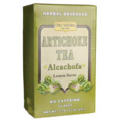 Artichoke Tea Lemon Flavor  No Caffeine, 20 Bag(s)