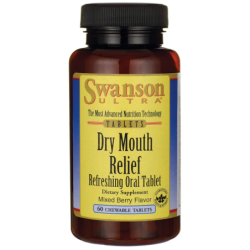 Dry Mouth Relief, 60 Chwbls