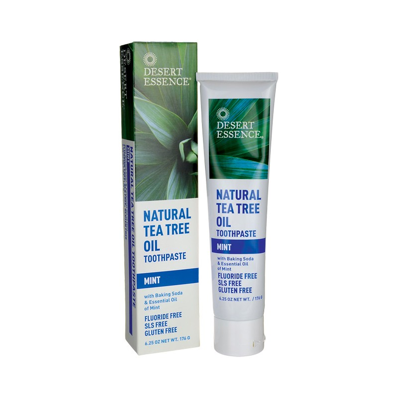 Tea Tree Oil Toothpaste  Mint, 6.25 oz (176 grams) Paste