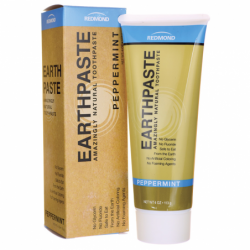 Earthpaste Amazingly Natural Toothpaste Peppermint, 4 oz Paste
