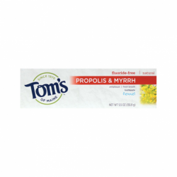 Antiplaque Toothpaste with Propolis & Myrrh  Fennel, 5.5 oz Paste