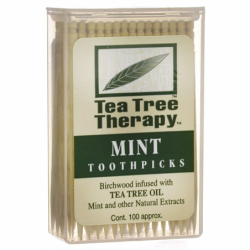 Mint Toothpicks, 100 Ct