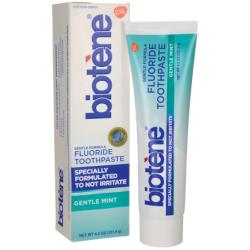 Gentle Formula Fluoride Toothpaste  Gentle Mint, 4.3 oz (121.9 grams) Paste