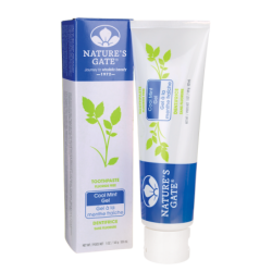 Cool Mint Gel Fluoride Free Toothpaste, 5 oz (141 grams) Paste