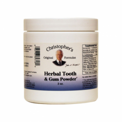 Herbal Tooth & Gum Powder, 2 oz Pwdr