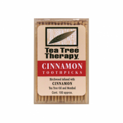 Cinnamon Toothpicks, 100 Ct