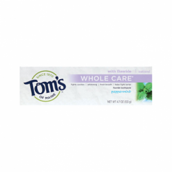 Peppermint Whole Care Toothpaste, 4.7 oz Paste