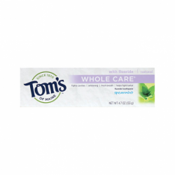 Spearmint Whole Care Toothpaste, 4.7 oz Paste