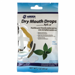 Dry Mouth Drops Mint, 26 Ct