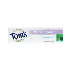 Peppermint Whole Care Gel Toothpaste, 4.7 oz Paste