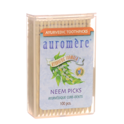 Ayurvedic Neem Picks, 100 Ct
