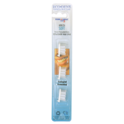 Terradent Med 5 Adult 31 Soft Toothbrush Head Refill, 3 Pack(s)