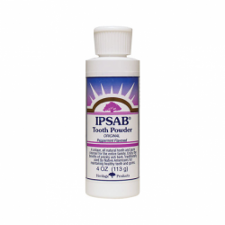 IPSAB Tooth Powder Peppermint, 4 oz Pwdr