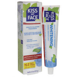 Whitening Anticavity Fluoride Toothpaste  Cool Mint Gel, 4.5 oz Gel