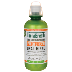 Fresh Breath Oral Rinse  Mild Mint, 16 fl oz (473 mL) Liquid
