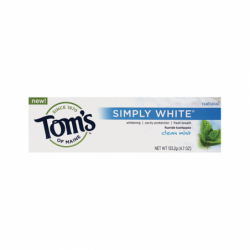 Simply White Clean Mint Toothpaste, 4.7 oz Paste