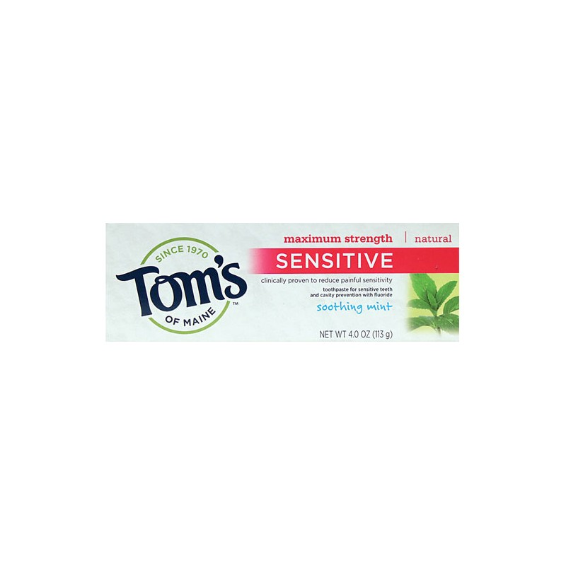 Soothing Mint Sensitive Toothpaste, 4 oz Paste
