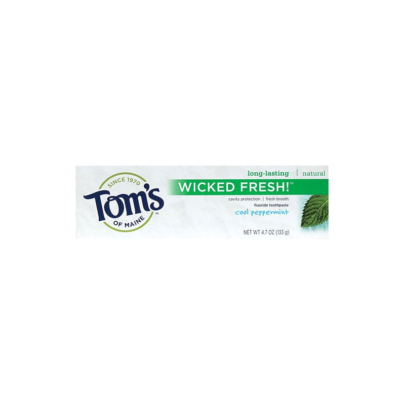 Wicked Fresh Toothpaste Cool Peppermint, 4.7 oz Paste